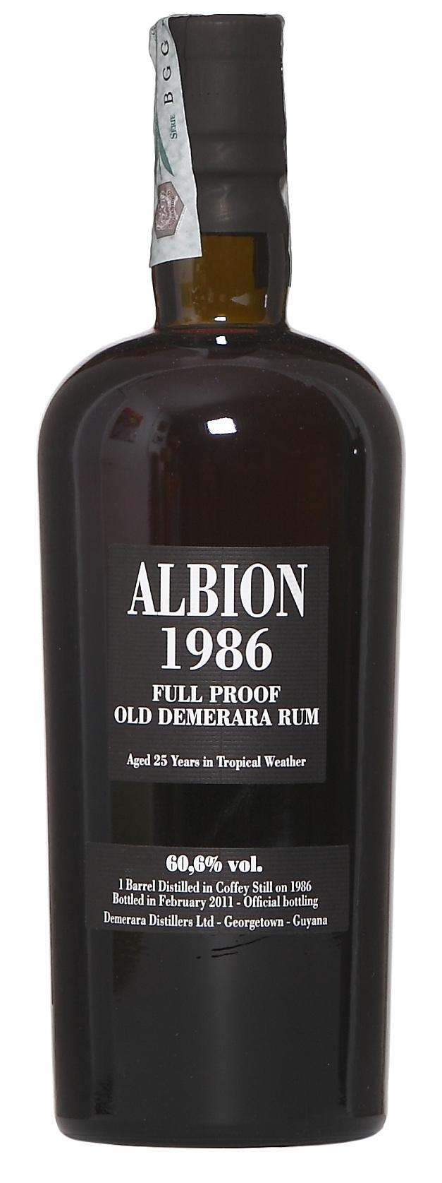 Albion 1986 Ernte