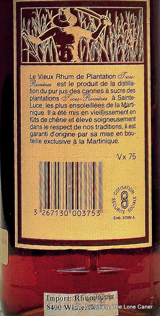 TR 1975 Label back