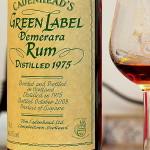 Cadenhead Green Label Demerara Rum 1975 33 Year Old - Review
