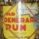 Old Demera Rum (1950s)