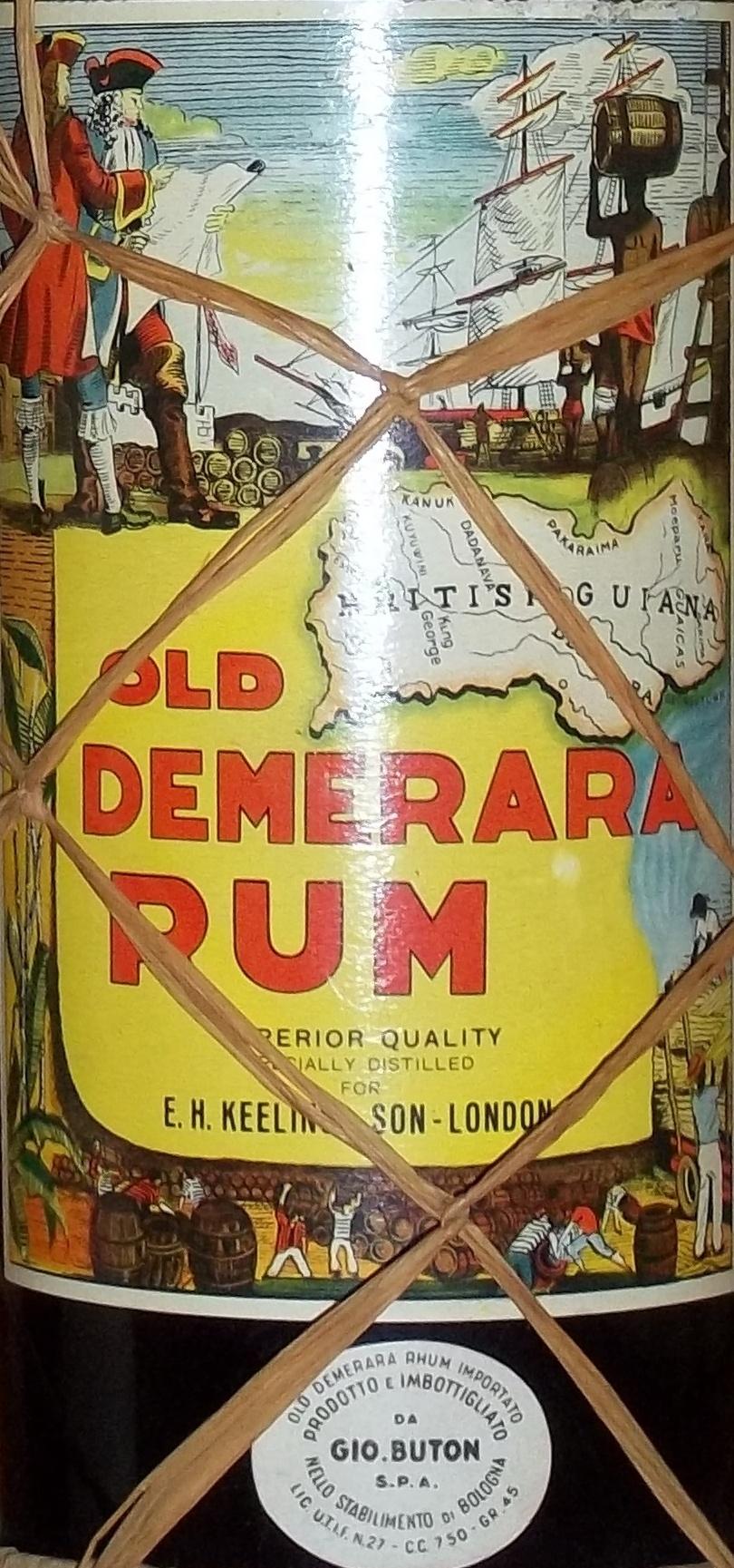 Old Demerara rum-001