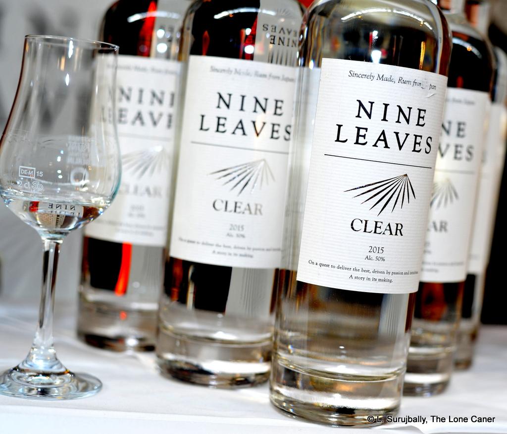 Nine Leaves White 2