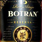 Botran Ron Añejo Reserva Solera 15 Years  - Review