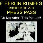 Berlin RumFest 2016 Update #4