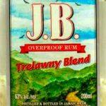 Charley's J.B. Overproof Jamaican White Rum - Review