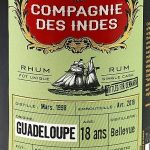 Compagnie des Indes Guadeloupe 1998 18 Year Old Rum (Denmark) - Review
