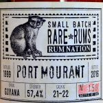 Rum Nation Small Batch Collection - Port Mourant 1999 17 Year Old - Review