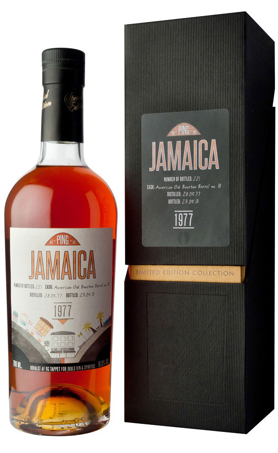 Ping No. 9 Longpond 1977 36 Year Old Jamaican Rum – Review