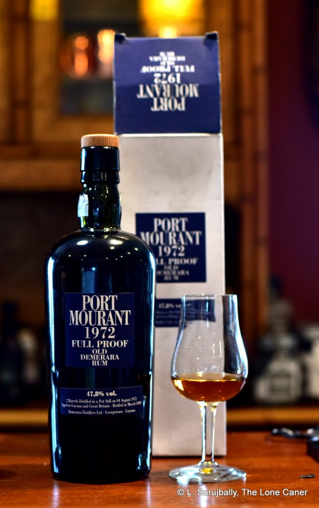 Velier Port Mourant 1972 35 Year Old Full Proof Rum – Review
