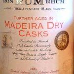El Dorado 15 Year Old Rum (Madeira Dry Finish) - Review
