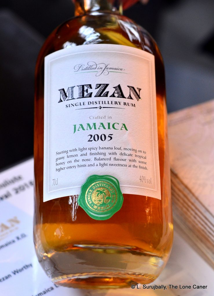 Mezan Jamaica (Worthy Park) 2005 10 Year Old Rum – Review
