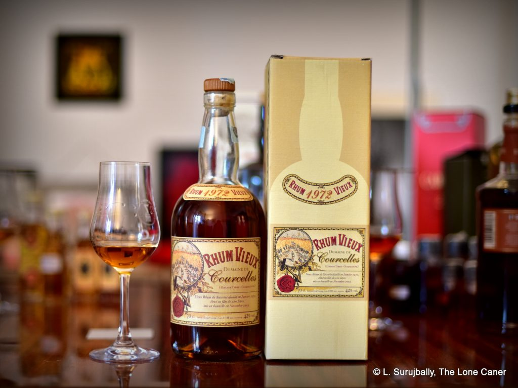 Velier Courcelles 1972 31 Year Old Rhum Vieux (42%) – Review