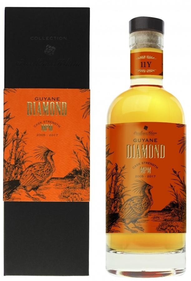 84405b73a0e09 Excellence Rhum Diamond MPM 2005 11 YO Guyana Rum – Review