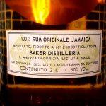 A. A. Baker Jamaican Rum (1970s)