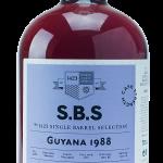 1423 S.B.S. Enmore 1988 28 Year Old Guyana Rum - Review