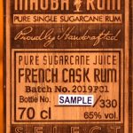 Mhoba Select Reserve French Cask South African Rum - Review