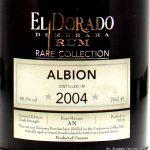 El Dorado Rare Sammlung - Albion 2004-2018 14 YO Rum - Rezension