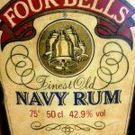 Vier Glocken Finest Old Navy Rum (1970-1980s)