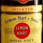 Lemon Hart Royal Navy Demerara Rum 151 (1970s)