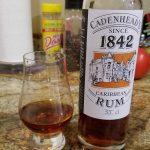 "Cadenhead ""1842 Living Cask"" Caribbean Blended Rum - Review"