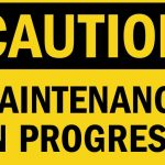 Under Construction - Repairs Underway