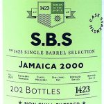 1423 S.B.S. Jamaica 2000 (Hampden) 16 Year Old Rum- Review