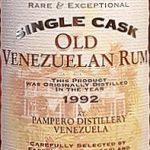 Secret Treasures Old Venezuela 1992 11 YO Rum - Review