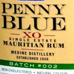 Penny Blue XO Mauritius Rum (Batch #002) - Review