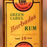 Cadenhead Green Label Barbados 1986 18 YO Rum (WIRD) - Review