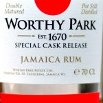 """Worthy Park 2012 Special Cask Double Matured """"Marsala"""" Jamaican Rum - Review"""